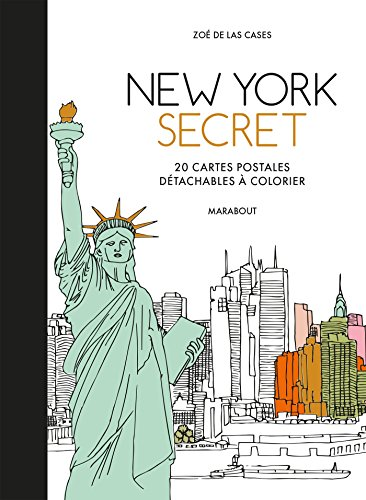 Cartes postales New-York secret
