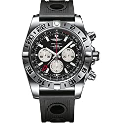 Breitling Men's Automatic Watch Chronomat AB0413B9/BD17/201S with Rubber Strap