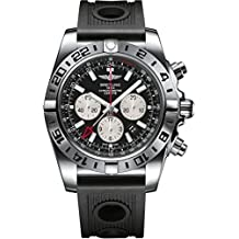 BreitlingChronomat –Reloj de pulsera para hombre, con Cronógrafo Automático y pulsera de Caucho AB0413B9/BD17/201S