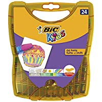 BIC Kids Yağlı Pastel Boya, 24'lü Sert Plastik Kutu
