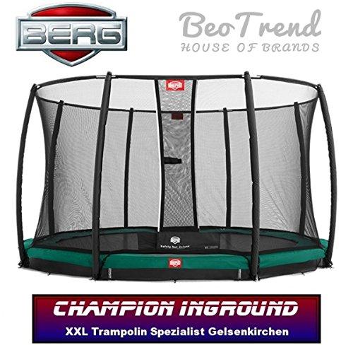 Preisvergleich Produktbild Berg Toys Inground Champion + Sicherheitsnetz Deluxe 330