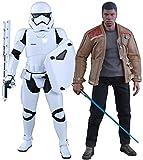 Hot Toys ht902626Maßstab 1: 6Finn und Erste Bestellung ausschreitungen Storm Trooper Set Star Wars The Force Weckt Figur