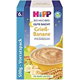 Hipp porridge bonsoir Semoule banane 500g, 4-pack (4 x 500g)