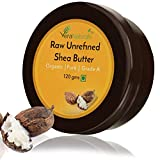 Vera Naturals Raw Unrefined Shea Butter 120gms - African, Raw, Pure - For