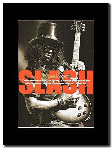 Guns 'N'Roses-Slash-Marshall Magazine Promo su un supporto, colore: nero