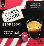 Carte Noire Espresso Equilibre/Délicat 128 G - Lot De 3 X 16 Capsules Compatibles...