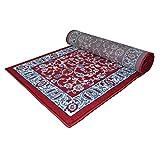 WEBTAPIS Teppich Klassische Nicht Teuer Orientalisches Design/Perser Teppich Wohnzimmer Royal Shiraz 2079-red, Polypropylen, Rot, cm. 70x500