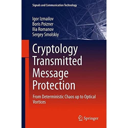 Cryptology Transmitted Message Protection : From Deterministic Chaos up to Optical Vortices