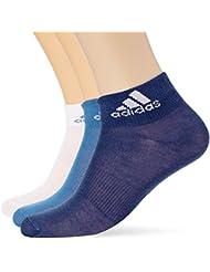 adidas S99888 Socken für Herren, Blau (Maruni / Weiß / Azubas)