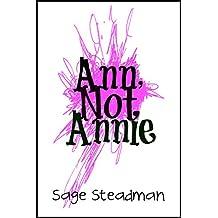 Ann, Not Annie (English Edition)