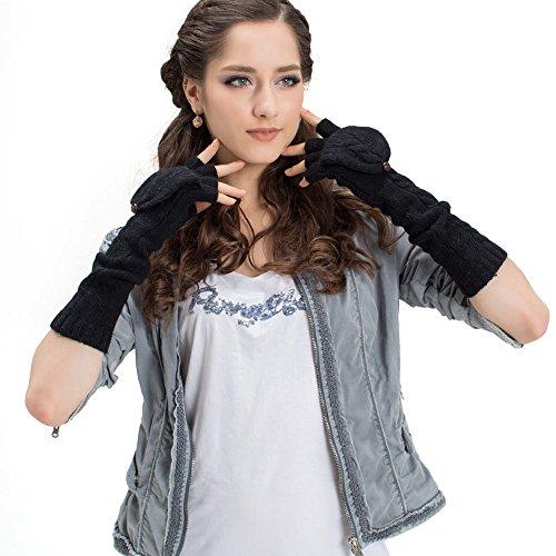 SRANDER - Gant - Femme noir Schwarz taille unique Schwarz