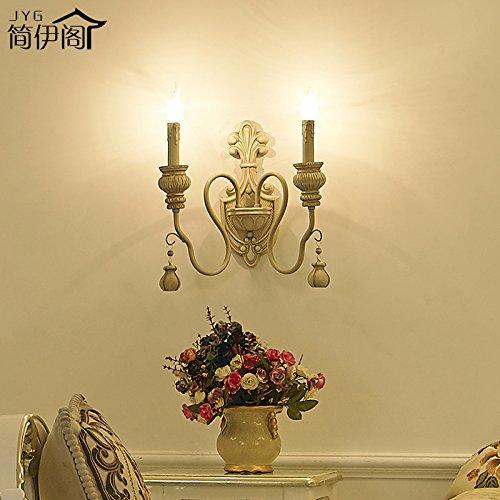 Modernes Wandbeleuchtung Wandleuchten Vintage Loft-Wandlampen Wandbeleuchtung Vintage Wandlampe Nostalgische Mediterrane Rustikale Antike Lampe Schlafzimmer Esszimmer Wohnzimmer Wandlampe 5253W -