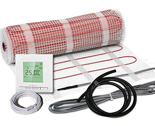 Elektrische Fußbodenheizung Komplett-Set BZ-150 plus (2.1 m² - 0.5 m x 4.2 m)