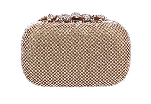 Diamond Evening Bag Ladies Banquet Bag Hand Evening Bag Four Seasons Wild Mini Square Bag - clutches