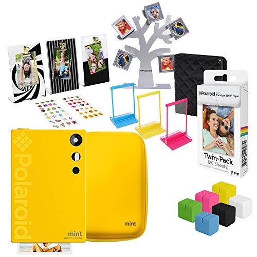 Polaroid Mint Sofortbildkamera (Gelb) Geschenkset