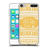 Official Vasare Nar Hakuna Matata Typography 3 Soft Gel Case for Apple iPod Touch 6G 6th Gen