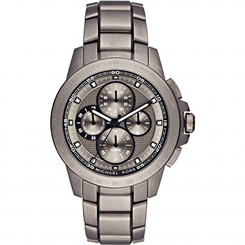 Mens Michael Kors Titanium Titanium Chronograph Watch MK8530