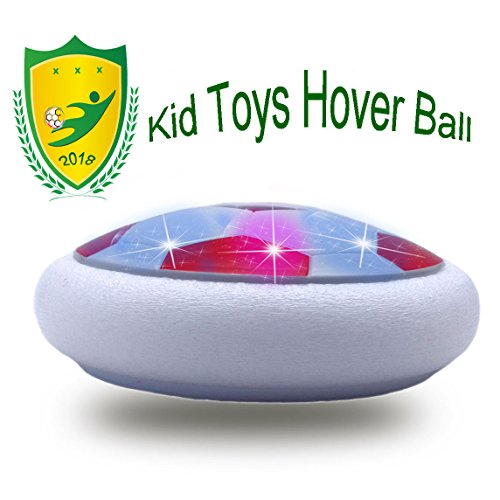 (JRD&BS WINL Buntes LED-Licht Schwebt Fußball Spielzeug, Das Interessanteste und KÜHlste Spielwaren FÜR 4-9-Jähriges Jungen Geburtstags Geschenk (Rot 01))