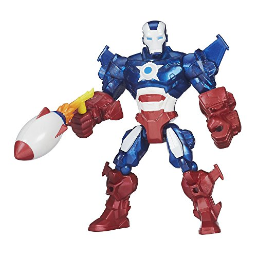 Marvel - Super Hero Mashers - Iron Patriot - 15 cm Action Figur