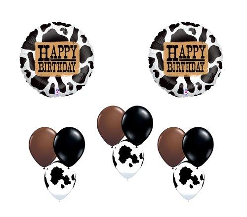 irthday Western Farm Country Balloon Party Set Mylar Latex by Burton & Burton ()
