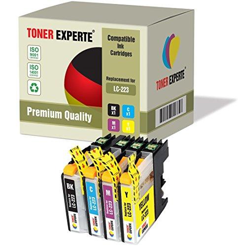 Preisvergleich Produktbild 4 XL TONER EXPERTE® LC223 Druckerpatronen kompatibel für Brother DCP-J4120DW, DCP-J562DW, MFC-J4420DW, MFC-J4425DW, MFC-J4620DW, MFC-J4625DW, MFC-J480DW, MFC-J5320DW, MFC-J5620DW, MFC-J5625DW, MFC-J5720DW, MFC-J680DW, MFC-J880DW