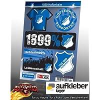 TSG 1899 Hoffenheim Aufkleberkarte DIN A5