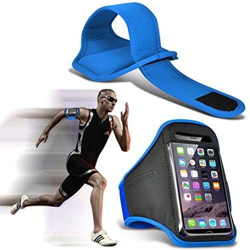 Fone-Case (Baby Blu) Samsung Galaxy A5 (2017) fascia da braccio Sports regolabile copertura di custodia per l'esecuzione di Corsa Bicicletta Palestra