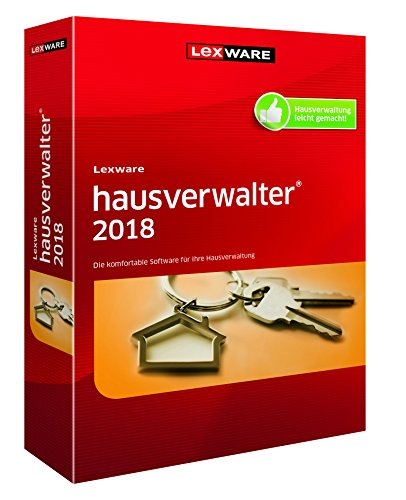 Vollversion / Lexware Hausverwalter 2018 / Version 18 / CD Box / Handelsversion