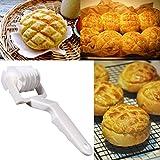 hkfv Griglia Roller–Rullo bucasfoglia Back Aiuto per pane pizza e torta cuociono l' attrezzo Cookie Pie Pizza Pasticceria Lattice Roller Cutter