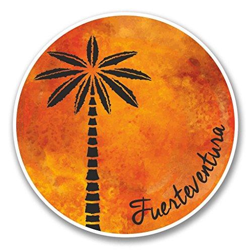 Preisvergleich Produktbild 2 x Fuerteventura Vinyl Aufkleber Aufkleber Laptop Reise Gepäck Auto Ipad Schild Fun 6318 - 15cm / 150mm Wide