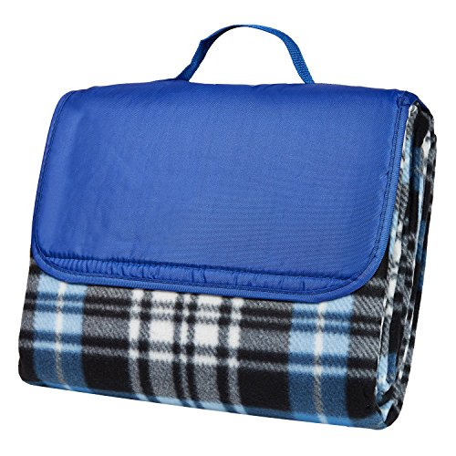 clara-clark-58-x-78-camping-beach-picnic-outdoor-blanket-x-large-royal-blue-plaid
