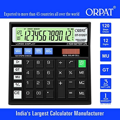 Orpat OT-512GT Calculator (Black)
