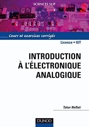 Introduction A L Electronique Analogique Sciences De L Ingenieur