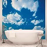Wolken Himmel Natur - Forwall - Fototapete - Tapete - Fotomural - Mural Wandbild - (1992WM) - XL - 208cm x 146cm - VLIES (EasyInstall) - 2 Pieces
