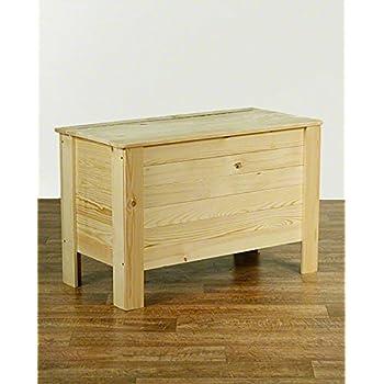 Holzkiste Holztruhe Truhe Kiste aus Holz mit Deckel