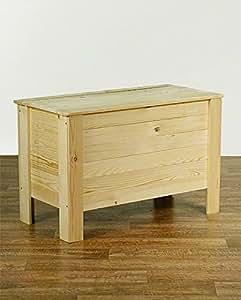 midacreativ caisse en bois avec couvercle en bois cuisine maison. Black Bedroom Furniture Sets. Home Design Ideas