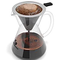 Coffee Gator Pour Over Coffee Maker, 400ml/3-Cup