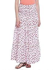 Oxolloxo Fruit Print Maternity Skirt
