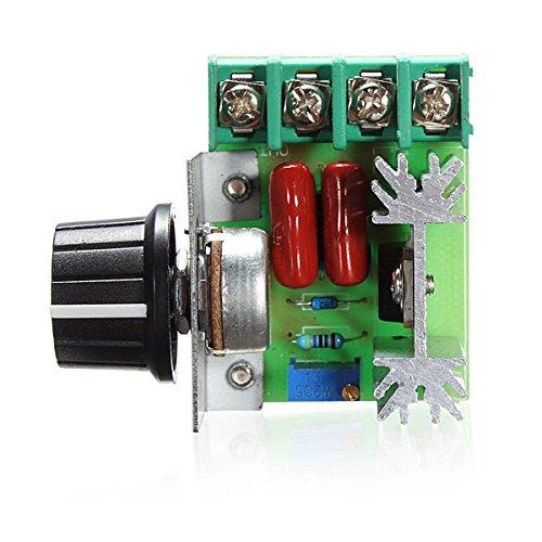 LaDicha Regler-Scr-Spannungs-Regler Der Geschwindigkeits-2000W, Der Dimmer-Thermostat Verdunkelt