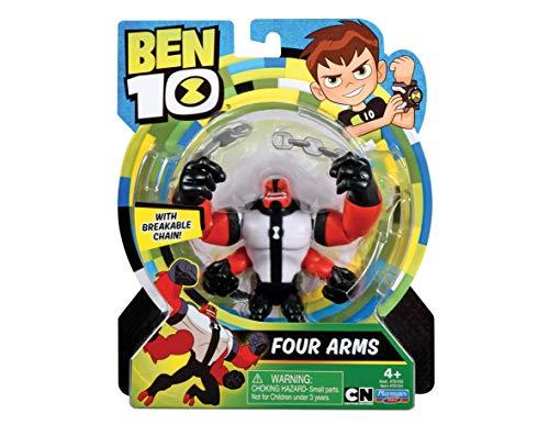 Ben 10 70740401 Ben10 Actionfiguren 13cm Krake (Four Arms) Spielfiguren