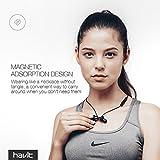 Bluetooth In-Ear Sport Kopfhörer HAVIT V4.2 IPX5 Schweißresistent Stereo magnetischer Sport Ohrhörer mit 10 Stunden Spielzeit & 10 Meter Reichweite, eingebautes Mikrofon für iPhone, Huawei und Samsung (I39 ) - 51mw3mkfCYL - Bluetooth In-Ear Sport Kopfhörer HAVIT V4.2 IPX5 Schweißresistent Stereo magnetischer Sport Ohrhörer mit 10 Stunden Spielzeit & 10 Meter Reichweite, eingebautes Mikrofon für iPhone, Huawei und Samsung (I39 )