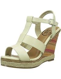 InitialeSerena - Sandali Donna amazon-shoes marroni Estate