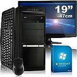 Multimedia-PC-tronics24-Optimus-a5374L-Komplett-Set-AMD-A4-5300-2x-34GHz-16GB-RAM-AMD-HD7480D-2GB-1000GB-HDD-DVD-RW-Gigabit-LAN-71-Sound-Win7Pro-47cm-19-TFT-Tastatur-Maus