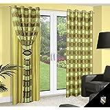 140x245 grün ZWEISEITIG Vorhang Vorhänge Gardine Ösenschal green seladongrün selenium 180_2