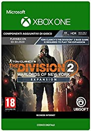 Tom Clancy's The Division 2: Warlords of New York Expansion| Xbox One - Codice down