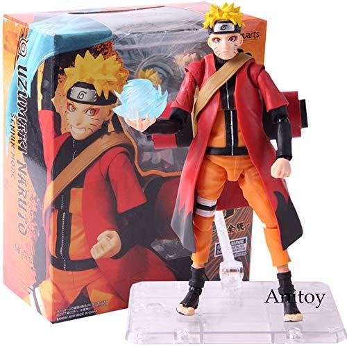 SHF Naruto Shippuden Uzumaki Naruto Sennin Modo PVC Anime Figura de ac