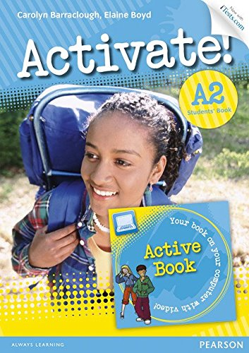 Activate! A2 Students' Book with Access Code and Active Book Pack