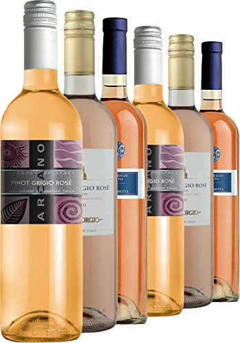 Fine Wine Sellers Italian Rose Wine Case Non Vintage 75 cl (Case of 6)