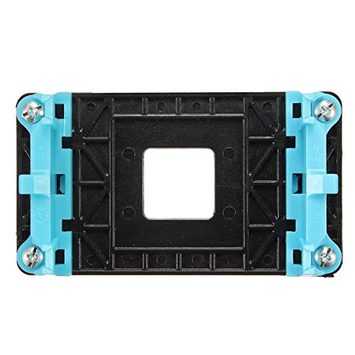 ILS. - Heat Sink Retention Module Bracket Backplate Black for AM2/AM3/AM3+/FM1/FM2