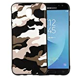 Forhouse Slim Fit Pouch Samsung Galaxy J7 (2017) J730 (European Version) Hülle Shock Absorption Phone case Defender Drop Protection Cover Bumper Hülle für Samsung Galaxy J7 (2017) J730